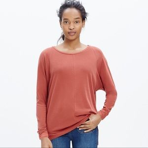 Madewell Long Sleeved Dolman Tee Shirt